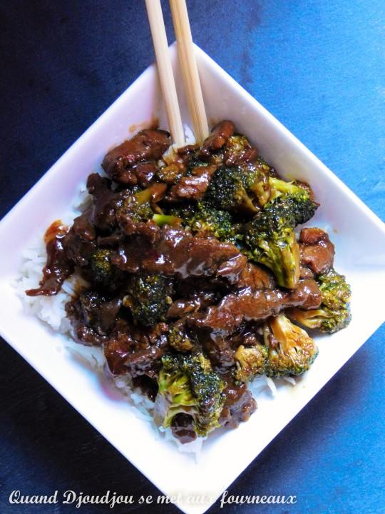 Boeuf et brocoli