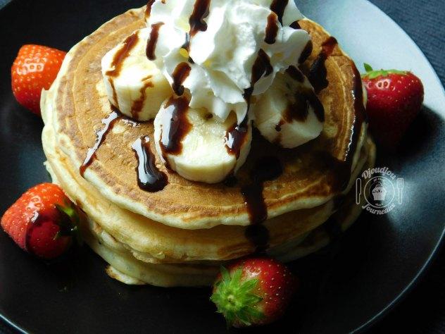 Pancakes Américains- Recette facile et rapide (sans repos)-3