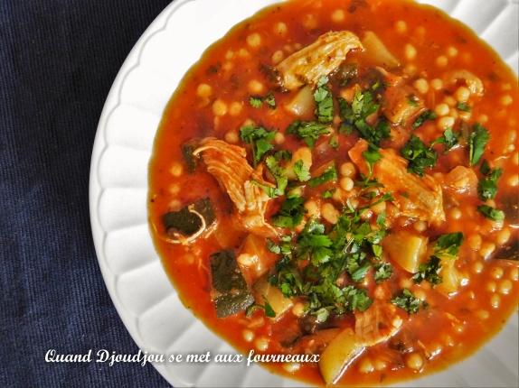 Berkoukés Algérien, recette facile