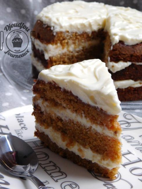 Cake Croustillant Aux Carottes