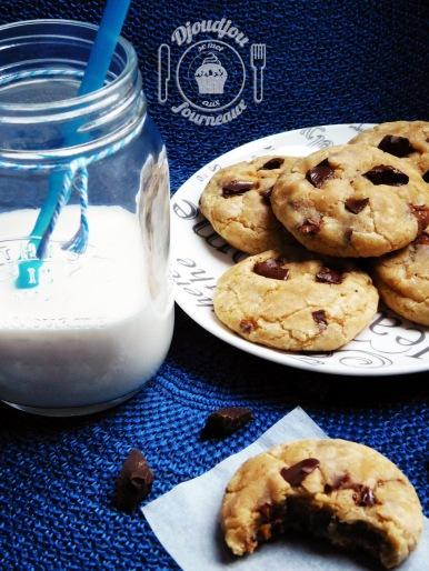 Cookies ultra moelleux au chocolat recette facile et - Recette cookies chocolat moelleux ...