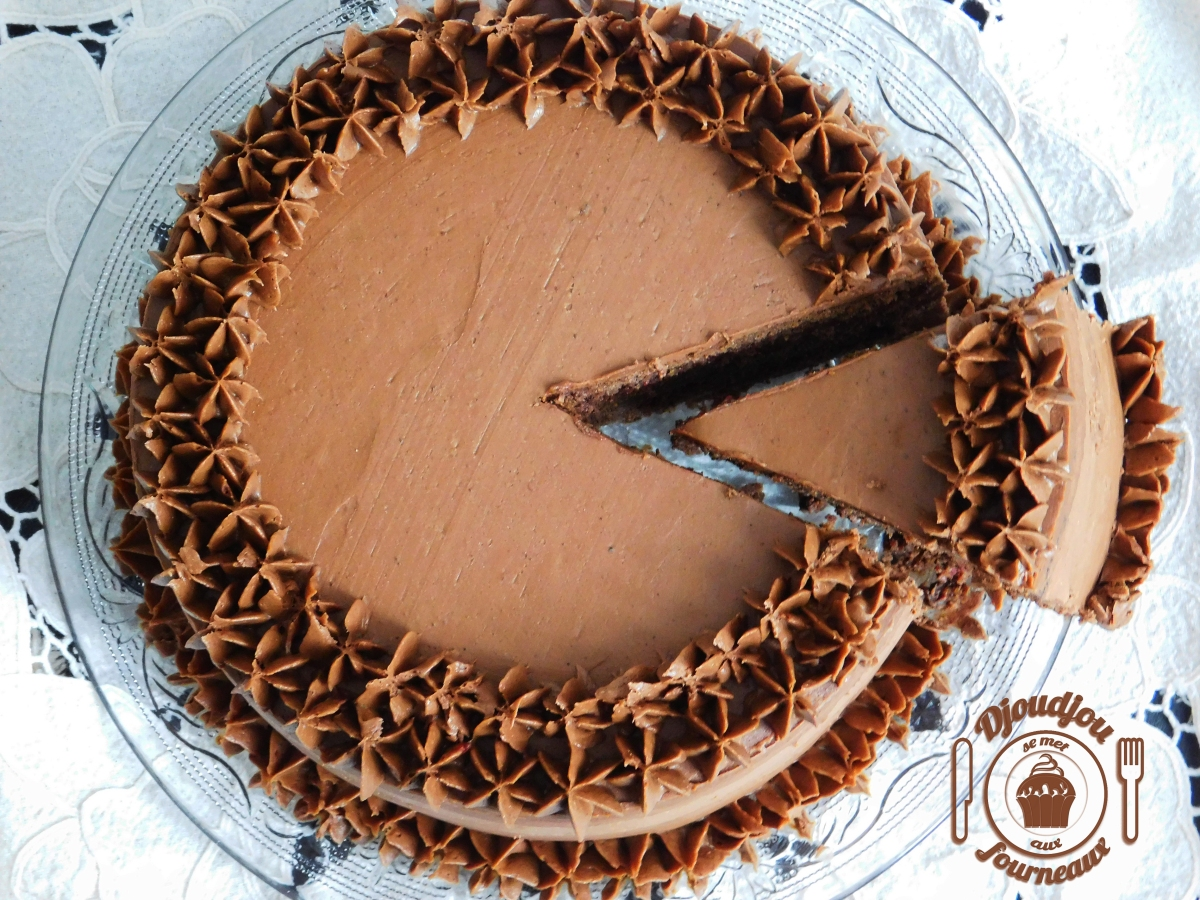 Layer Cake Ganache Chocolat