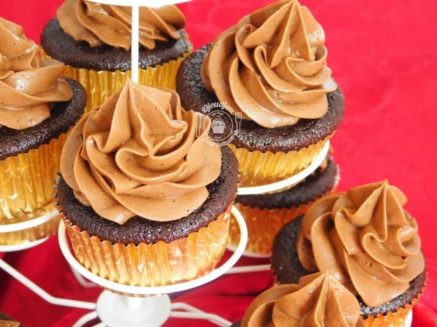 Cupcakes chocolat banane