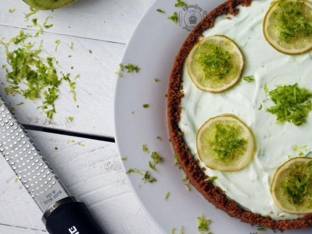 Cheesecake crémeux au citron vert, sans cuisson