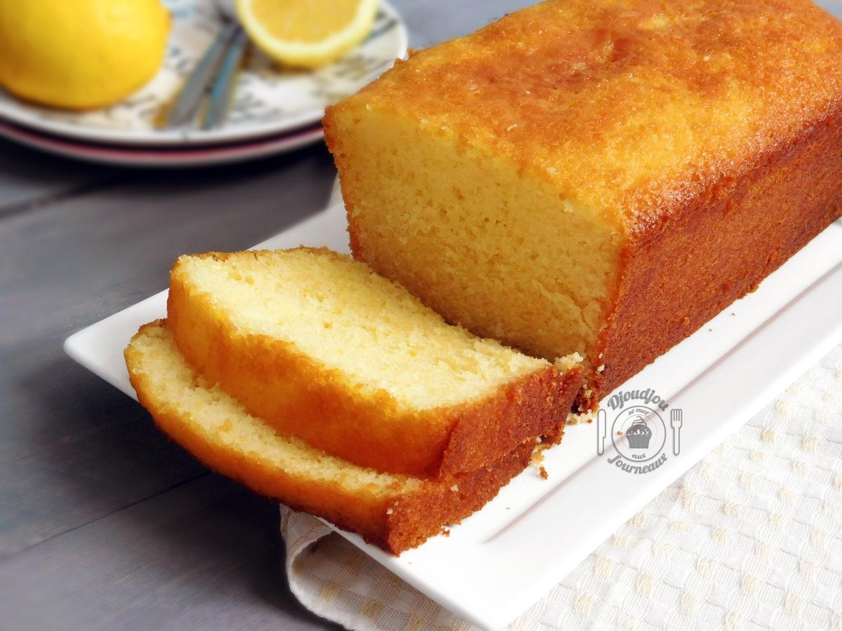 Cake au citron: Recette de Pierre Hermé